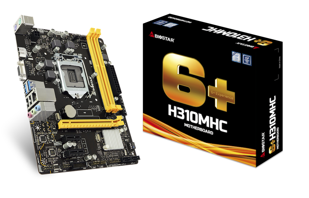 H310MHC INTEL Socket 1151 gaming motherboard
