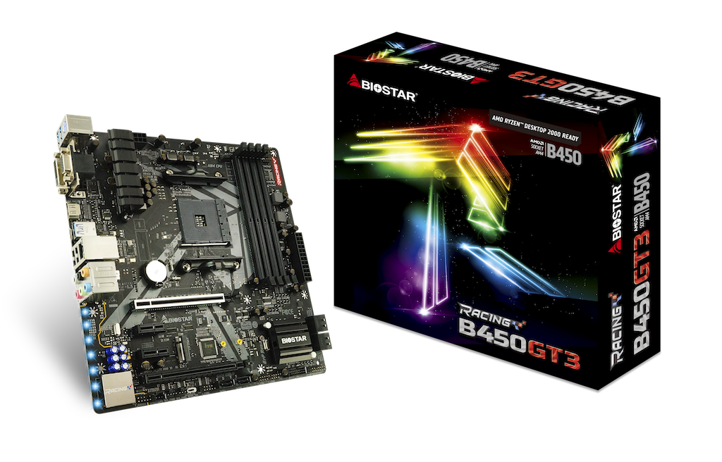B450GT3 AMD Socket AM4 gaming motherboard