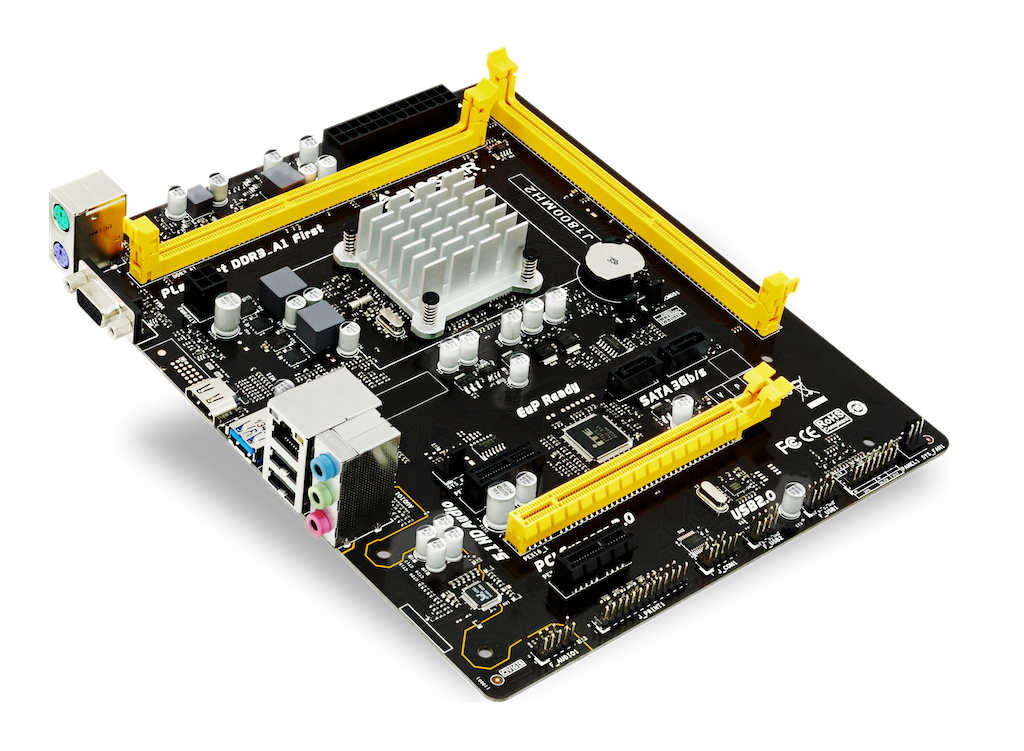 J1800MH2 INTEL CPU onboard gaming motherboard