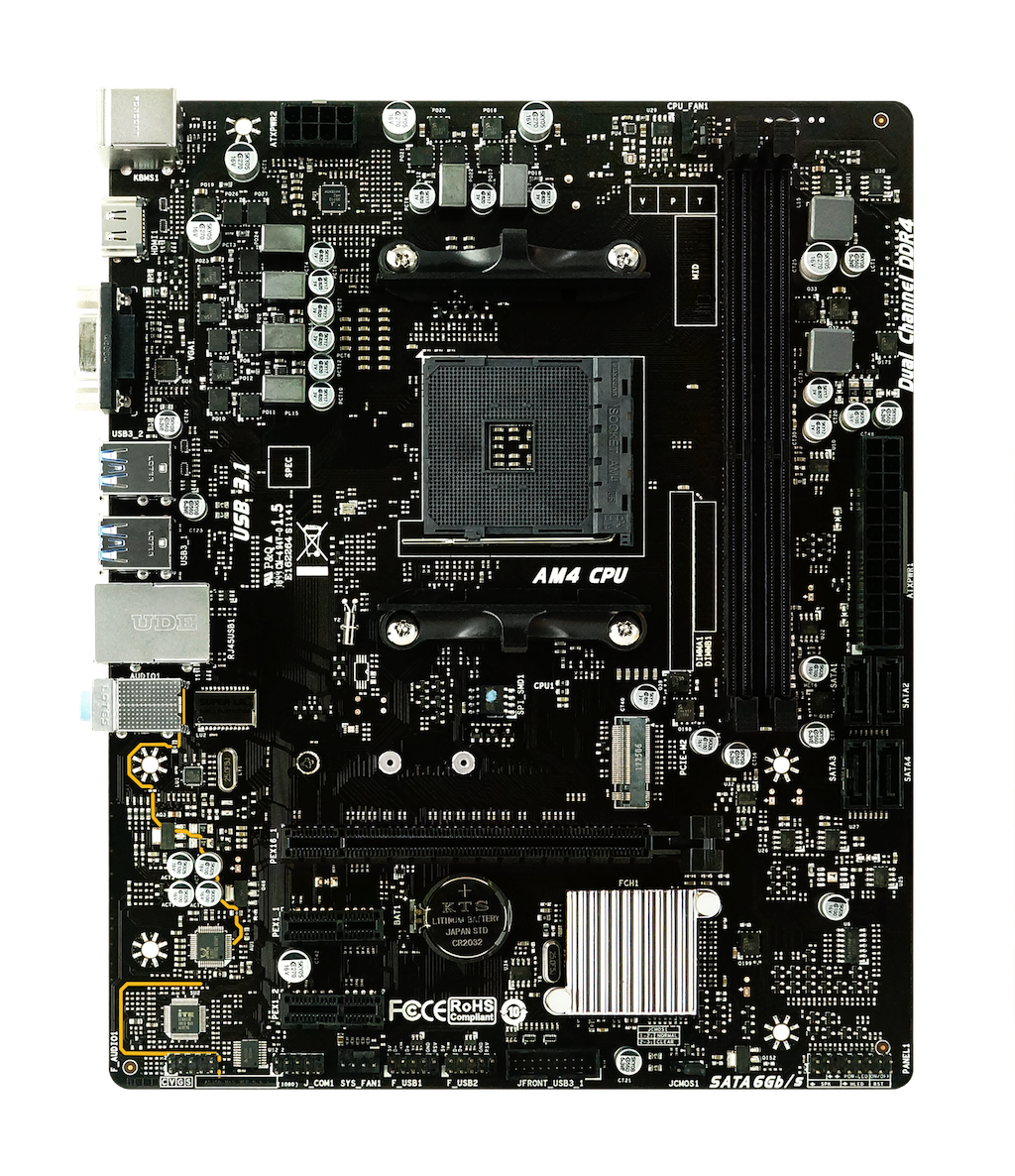 B45M2 AMD 소켓 AM4 gaming motherboard