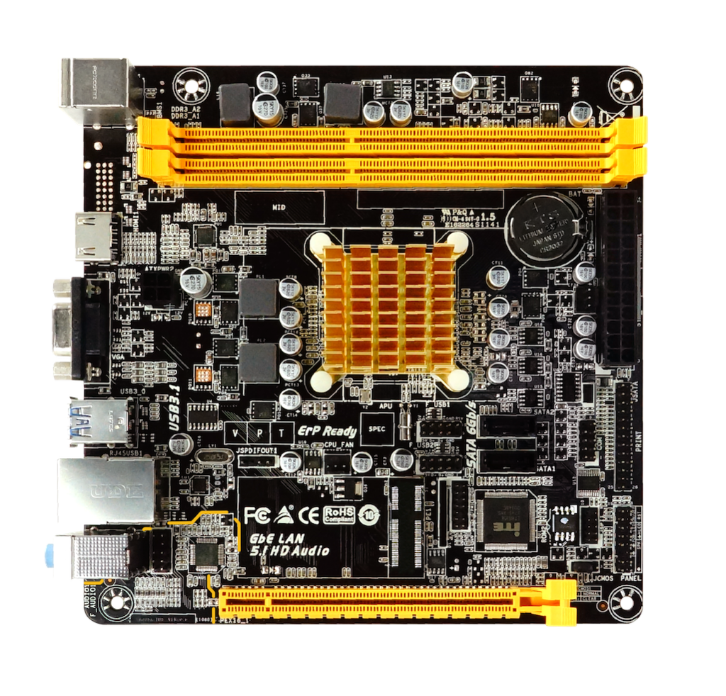 A68N-2100E AMD CPU onboard gaming motherboard