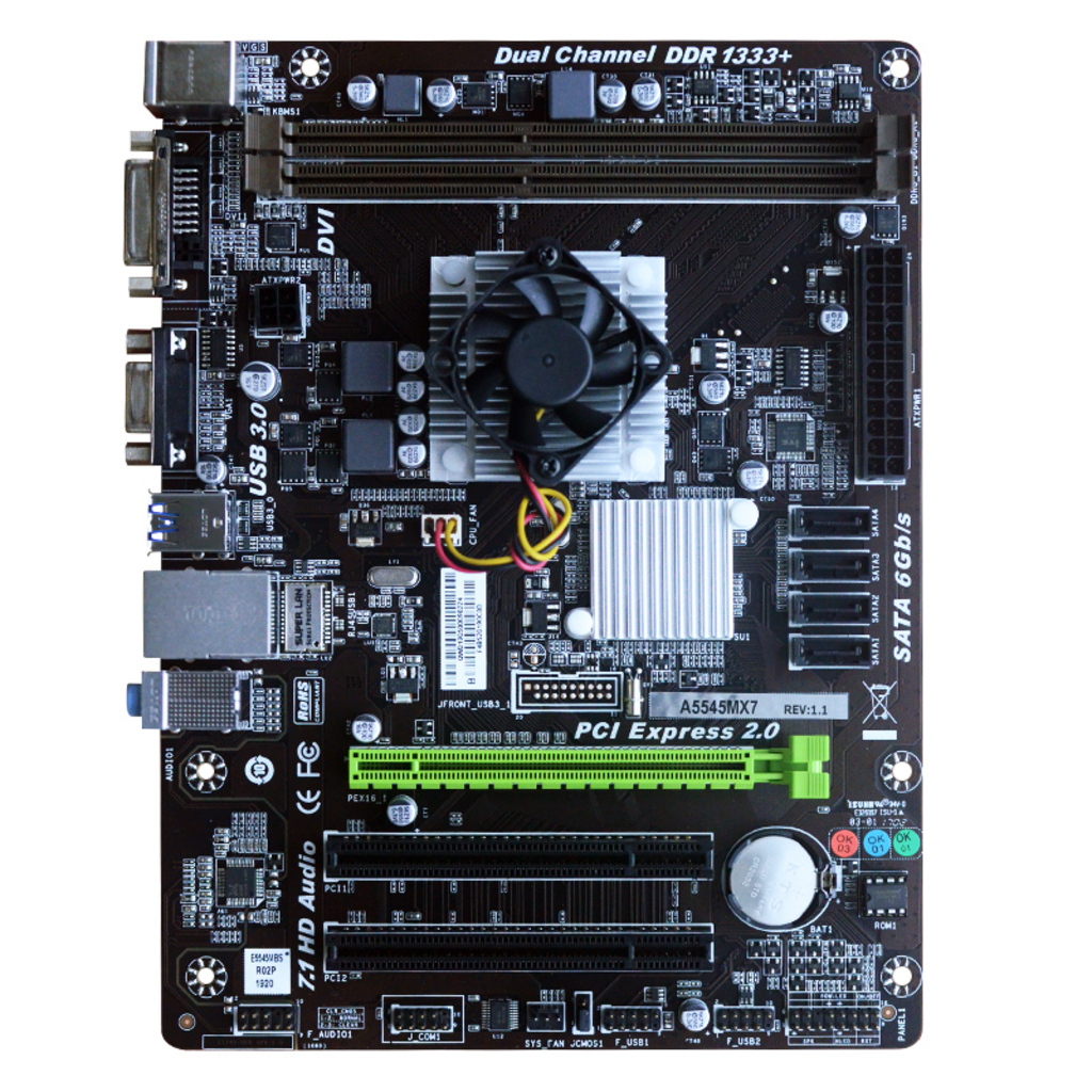 A5545MX7 AMD CPU onboard gaming motherboard