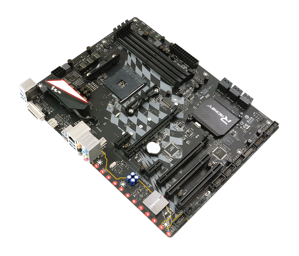 X470GTA AMD شکاف  AM4 gaming motherboard