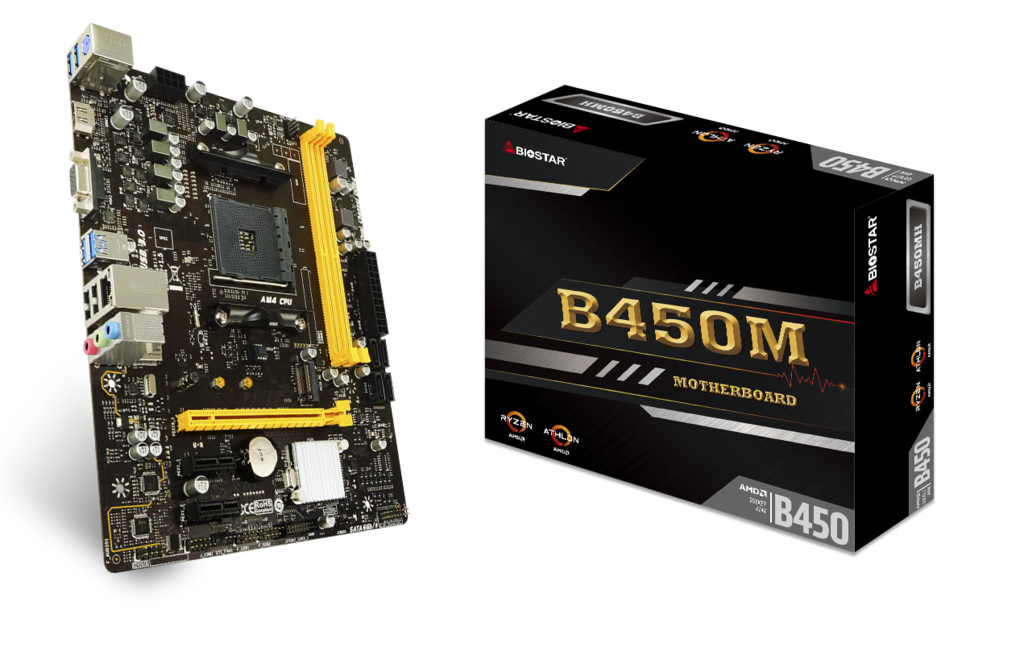 B450MH AMD Socket AM4 gaming motherboard