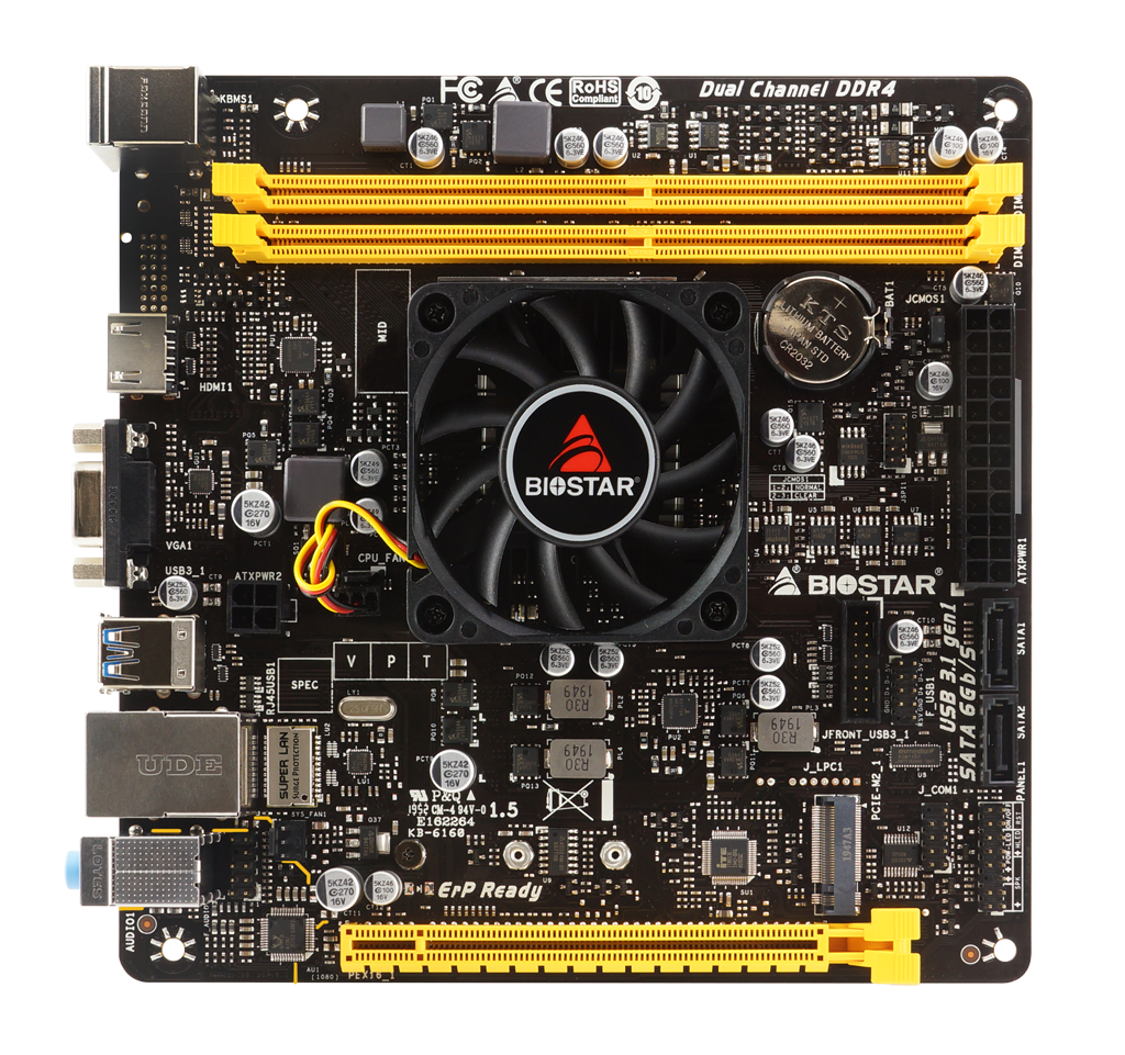 A10N-9630E AMD CPU onboard gaming motherboard