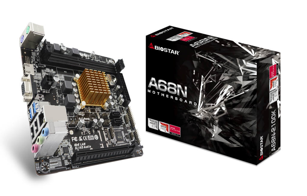 A68N-2100K AMD CPU onboard gaming motherboard