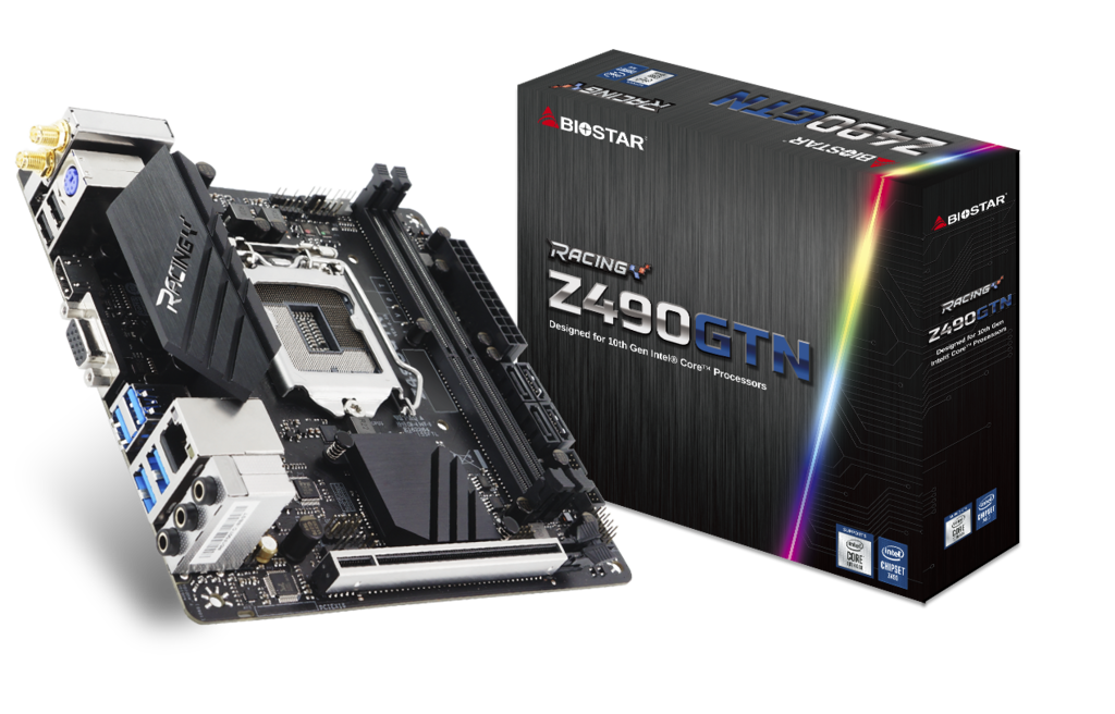 Z490GTN INTEL Zócalos 1200 gaming motherboard