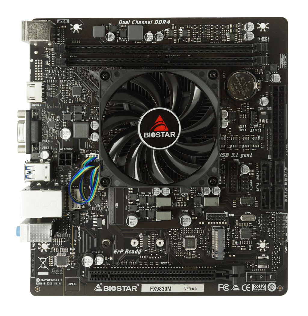 FX9830M AMD CPU onboard gaming motherboard