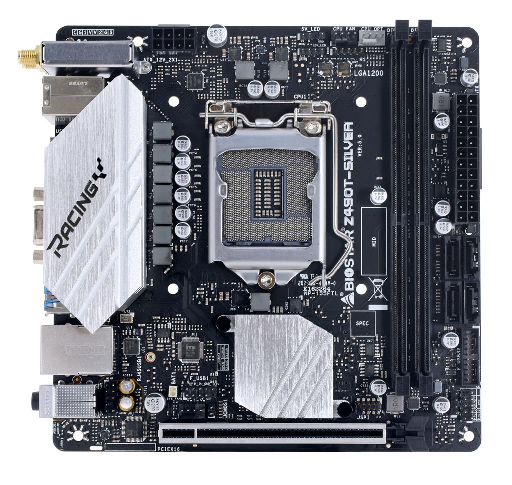Z490T-SILVER INTEL ソケット 1200 gaming motherboard