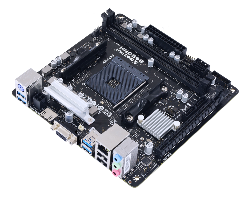 B450NH AMD Soket AM4 gaming motherboard