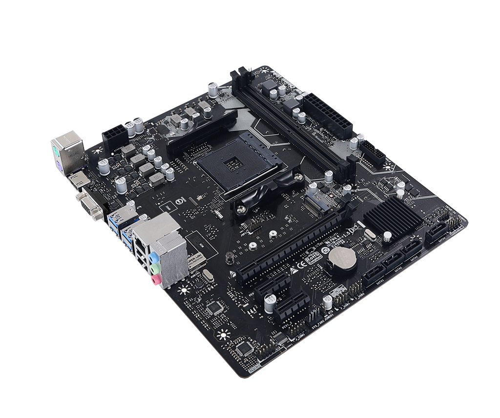 A520MH AMD شکاف  AM4 gaming motherboard