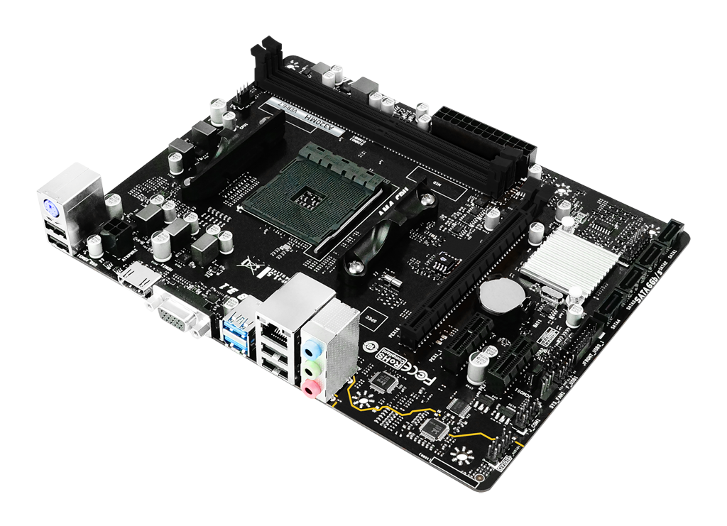 A320MH AMD Zócalos AM4 gaming motherboard