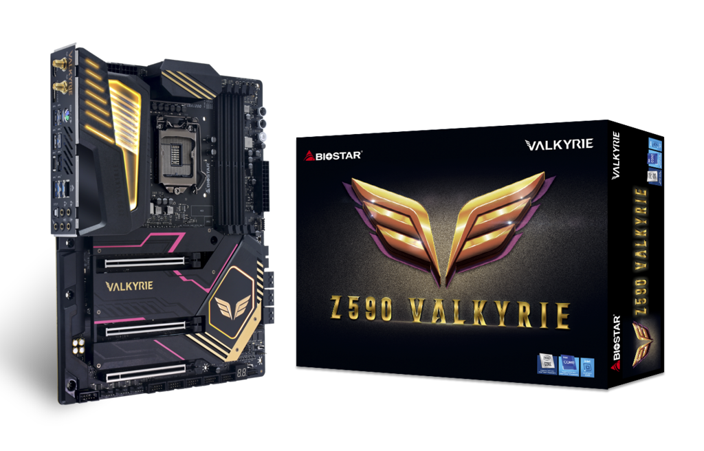 Z590 VALKYRIE INTEL ソケット 1200 gaming motherboard