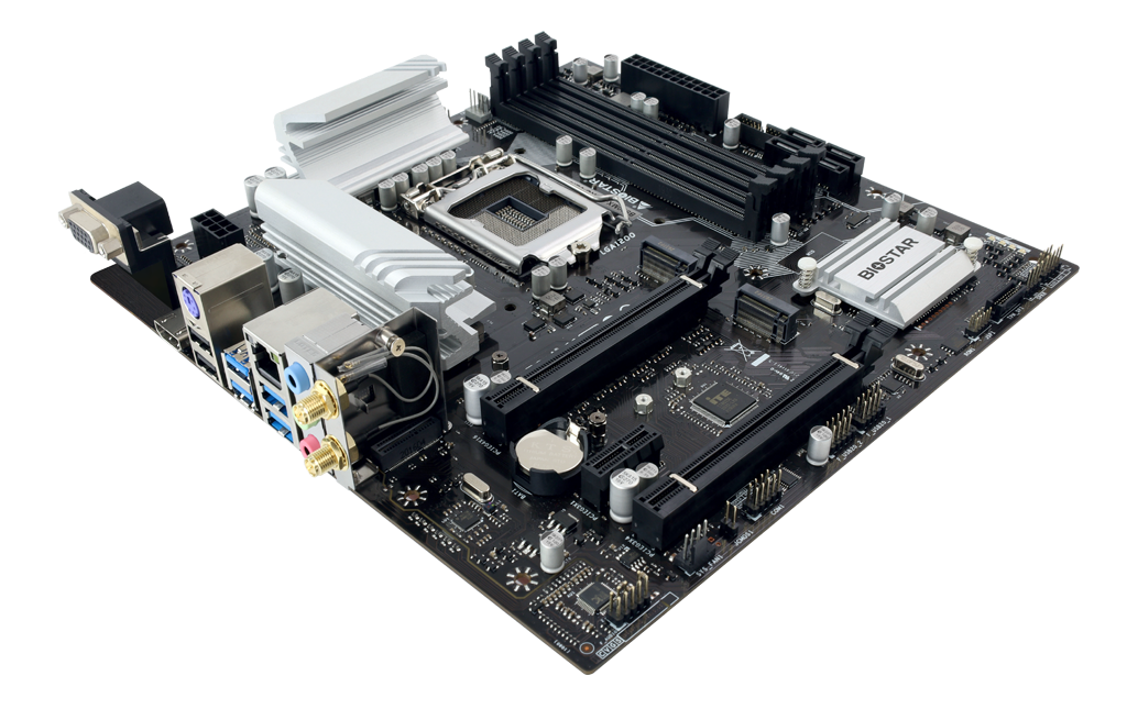 B560MH-E PRO INTEL Socket 1200 gaming motherboard