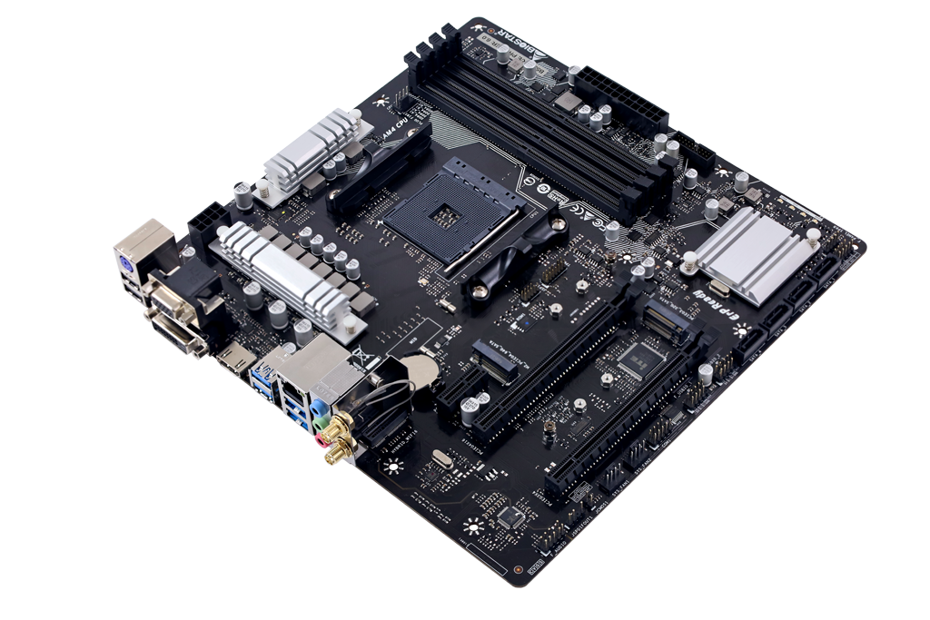 B550MX/E PRO AMD ソケット AM4 gaming motherboard