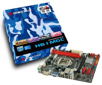 H61MGC INTEL Socket 1155 gaming motherboard