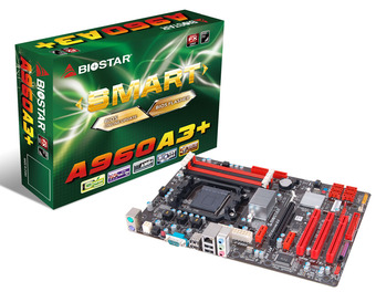 A960A3+ AMD Socket AM3+ gaming motherboard