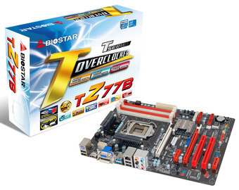 TZ77B INTEL Socket 1155 gaming motherboard