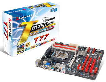 T77 INTEL Socket 1155 gaming motherboard