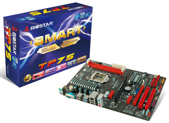 TP75 INTEL Socket 1155 gaming motherboard