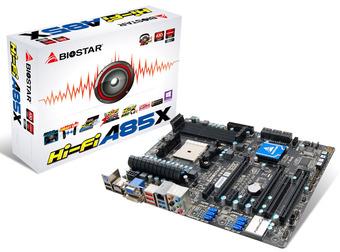 Hi-Fi A85X AMD Socket FM2 gaming motherboard