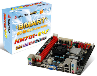 NM70I-847 INTEL CPU onboard gaming motherboard
