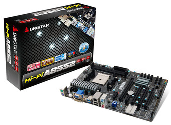 Hi-Fi A85S2 AMD Socket FM2 gaming motherboard