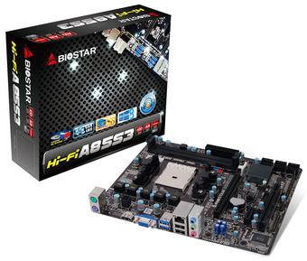 Hi-Fi A85S3 AMD Socket FM2 gaming motherboard