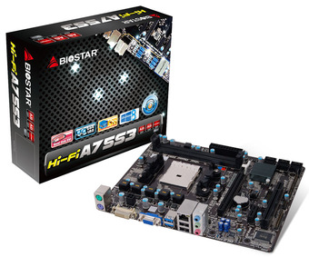 Hi-Fi A75S3 AMD Socket FM2 gaming motherboard