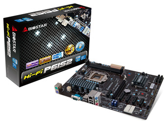 Hi-Fi P61S2 INTEL Socket 1155 gaming motherboard