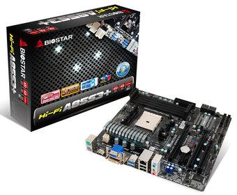 Hi-Fi A85S3+ AMD Socket FM2 gaming motherboard