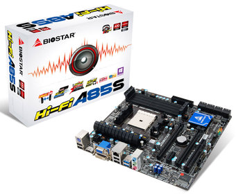 Hi-Fi A85S AMD Socket FM2 gaming motherboard