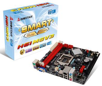 H61MGV3 INTEL Socket 1155 gaming motherboard