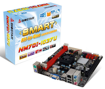 NM70I-1037U INTEL CPU onboard gaming motherboard