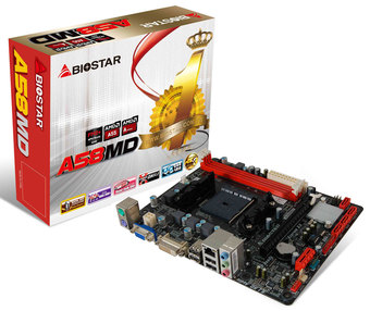 A58MD AMD Socket FM2+ gaming motherboard