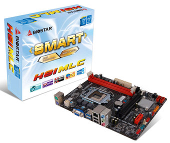 H81MLC INTEL Socket 1150 gaming motherboard