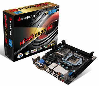 Hi-Fi B85N 3D INTEL Socket 1150 gaming motherboard