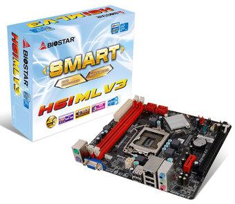 H61MLV3 INTEL Socket 1155 gaming motherboard