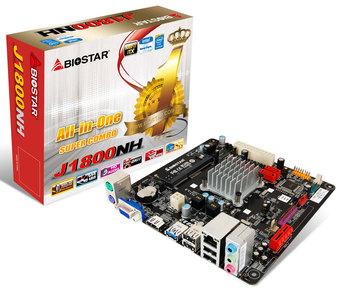 J1800NH INTEL CPU onboard gaming motherboard