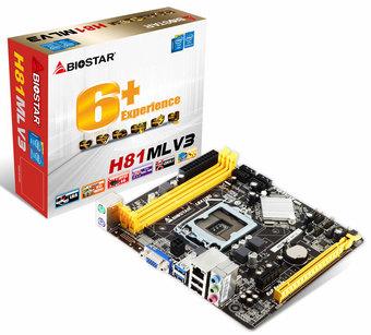 H81MLV3 INTEL Socket 1150 gaming motherboard