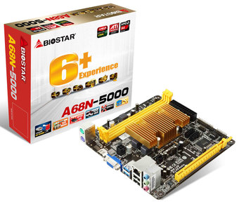 A68N-5000 AMD CPU onboard gaming motherboard