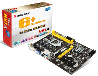 H81A INTEL Socket 1150 gaming motherboard