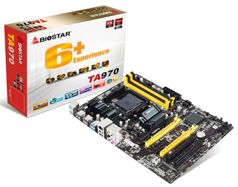 TA970 AMD Socket AM3+ gaming motherboard