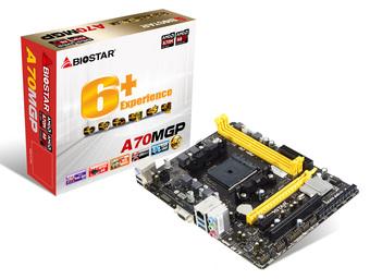 A70MGP AMD Socket FM2+ gaming motherboard
