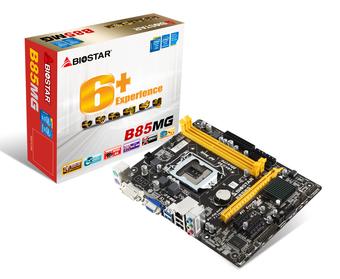 B85MG INTEL Socket 1150 gaming motherboard