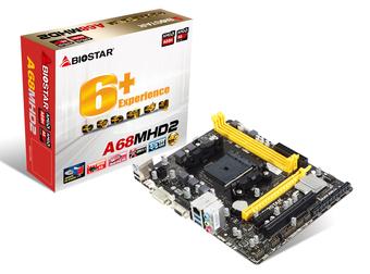 A68MHD2 AMD Socket FM2+ gaming motherboard