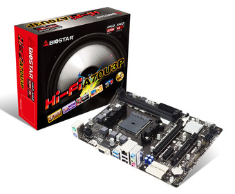 Hi-Fi A70U3P AMD Socket FM2+ gaming motherboard