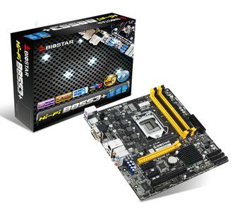 Hi-Fi B85S3+ INTEL Socket 1150 gaming motherboard