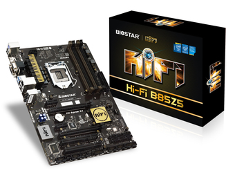 Hi-Fi B85Z5 INTEL Socket 1150 gaming motherboard