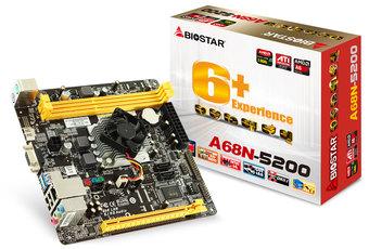 A68N-5200 AMD CPU onboard gaming motherboard